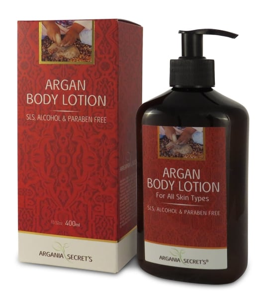 קרם גוף ארגן אדום ARGANIA'S SECRETS RED ARGAN BODY LOTION
