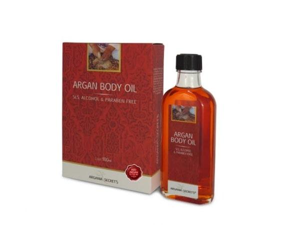 שמן גוף ארגן אדום ARGANIA'S SECRETS RED ARGAN BODY OIL