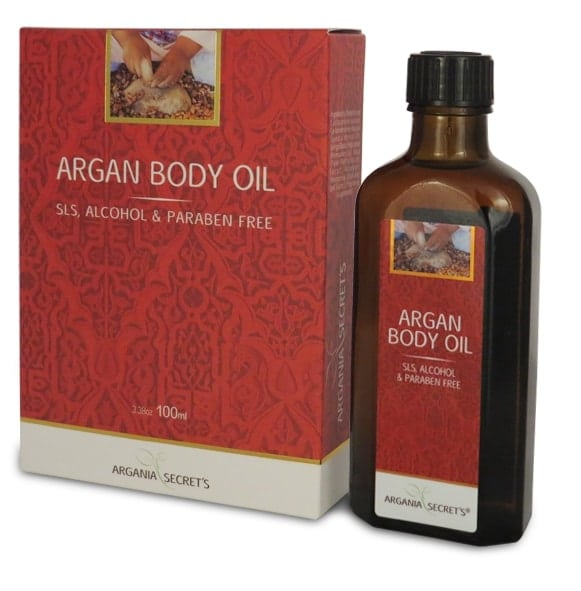 שמן גוף ארגן וקרטין ARGANIA'S SECRETS ARGAN&KERATIN BODY OIL